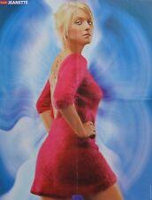 JEANETTE BIEDERMANN - A2 Poster (XL - 42 x 55 cm) - Clippings Fan Sammlung NEU
