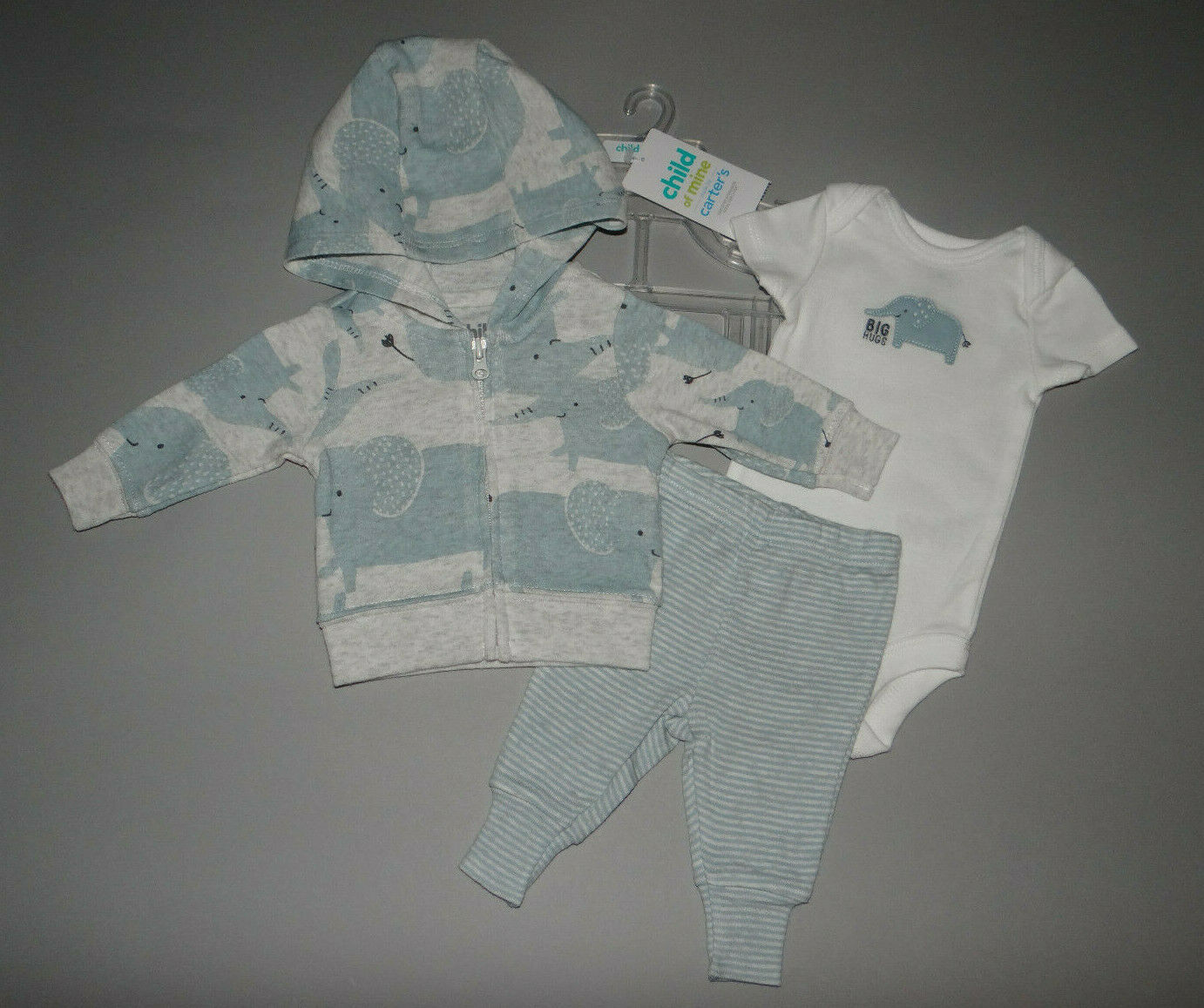 NWT, Baby boy clothes, Preemie, Carter's Cardigan set/ ~~SEE DETAILS ON SIZE~~