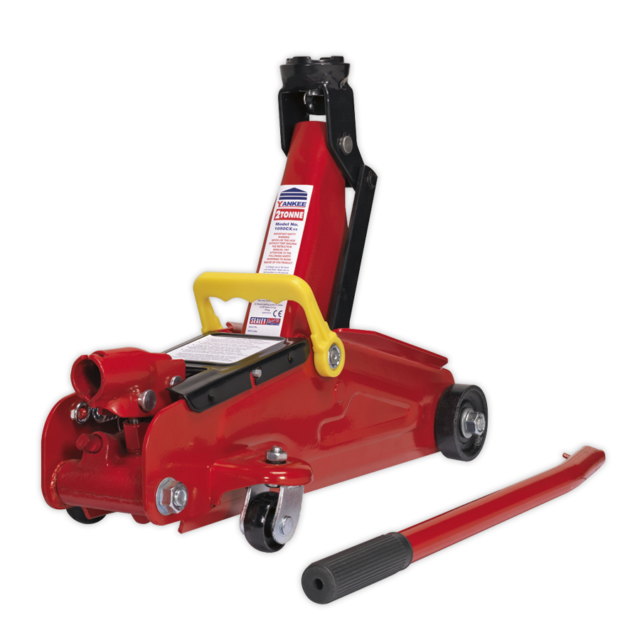 Sealey Trolley Jack 2tonne Short Chassis 1050CX