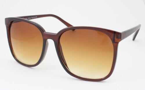 Ladies Oversized Square Frame Sunglasses Retro 80/'s