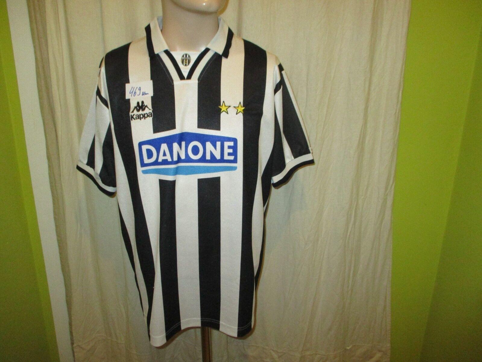 Juventus Turin Original Kappa Heim Trikot 1994 95  DANONE  + Nr.11 Gr.M TOP