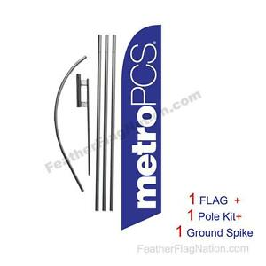 Scion Dealership Advertising Feather Banner Swooper Flag Kit with pole+spike