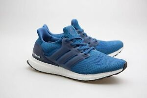 Image is loading 180-Adidas-Men-Ultra-Boost-blue-core-blue-