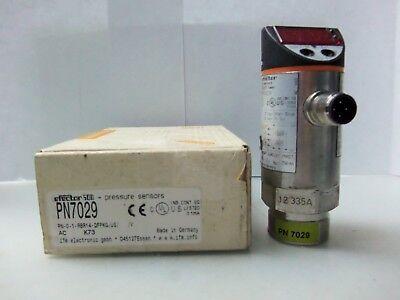 NEW* IFM EFECTOR 500 PRESSURE SENSOR SWITCH PN7029 PN-0-1-RBR14-QFPKG//US//V