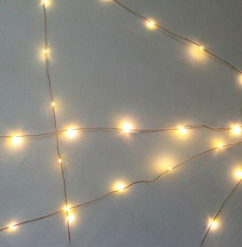 Battery 100-280M LED Fairy String Lights Outdoor Garden Xmas Decor Waterproof