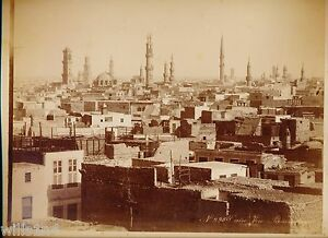 Large antique cabinet Langahai photo of Cairo Egypt ...