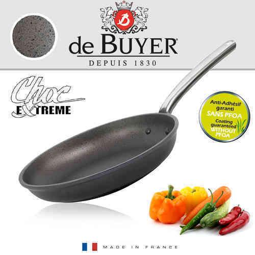 De Buyer-CHOC EXTREME-anti-adhérent poêle 24 CM