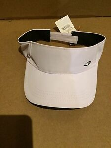 438373b9e3f Women s Champion Sports Athletic Visor White-Black Duo Dry-Cooling ...