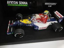 Williams FW14 Nigel Mansell & Ayrton Senna F1 Camel Minichamps F1 1 18