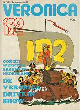 VERONICA 1972 nr. 29 - MIKE LOVE(BEACH BOYS)/WALLY TAX/JOHN WAYNE/SJAKIE SCHRAM