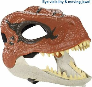 Jurassic World Velociraptor Mask with Movable Jaw by Mattel