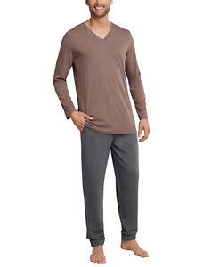 SCHIESSER Homeware Herren Schlafanzug Pyjama Gr.54 NEU ehemaliger UVP 49,95€