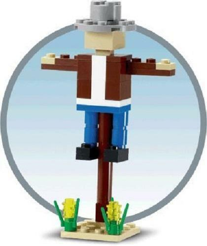 Constructibles® Scarecrow Mini Build LEGO® Parts & Instructions Kit