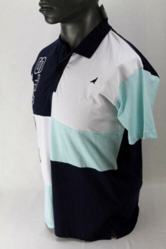 NWT Staple Pigeon S//S WARM UP POLO SHIRT NAVY 1804P4836 MSRP$54.00