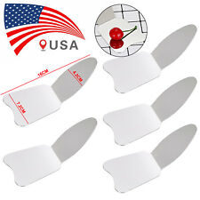 1 5pc Dental Oral Photographic Mirror Autoclavebale Stainless Reflector Mirrors