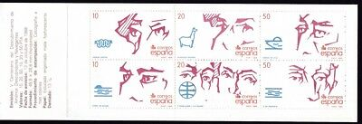 Spanien & Kolonien 6 500.jahrestag Entdeckung Von Amerika Um Eine Reibungslose üBertragung Zu GewäHrleisten Verantwortlich Spanien 1988 Postfrisch Markenheft Minr
