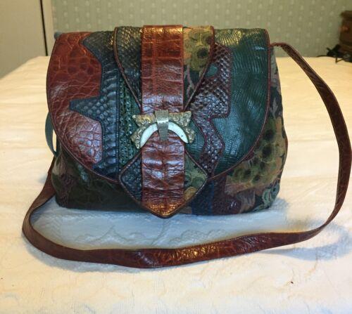 SHARIF Vintage Leather Handbag