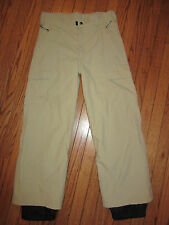 OBERMEYER CARGO II SKI PANT JUNIOR UNI-SEX 95435 KHAKI~14 JUNIORS