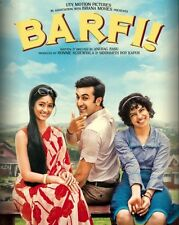 Barfi! 2012 Ranbir Kapoor, Priyanka chopra- indian bollywood hindi movie dvd
