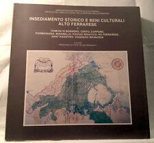 Insediamento storico Massaretti Bondeno Cento Mirabello S.Agostino Ro Ferrarese