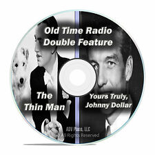The Thin Man, Yours Truly, Johnny Dollar, 802 EPISODES Old Time Radio OTR CD F64