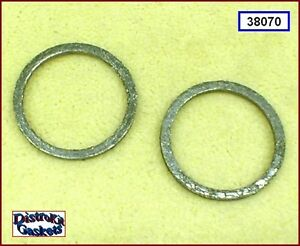 Exhaust Port Gasket Flat race-style 2pk 86-up Sportster, 84-up Big Twin 65324-83