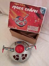 SPACE CRUISER CZ-3796 BATTERY OPERATED-ASTRONAVE ANNI 70/80 CON SCATOLA