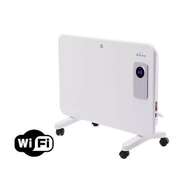 Radiador de aluminio 1000 W con control WIFI por App apto para baño Purline
