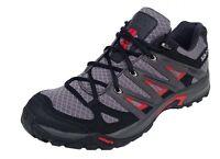 Salomon Mens Eskape Aero Trainer Trial Walking 381227 Grey/black/red Uk 6.5-11