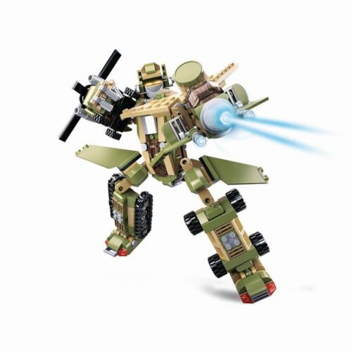 Sluban Building Blocks King of Land Force of Special Police Series 6 into 1