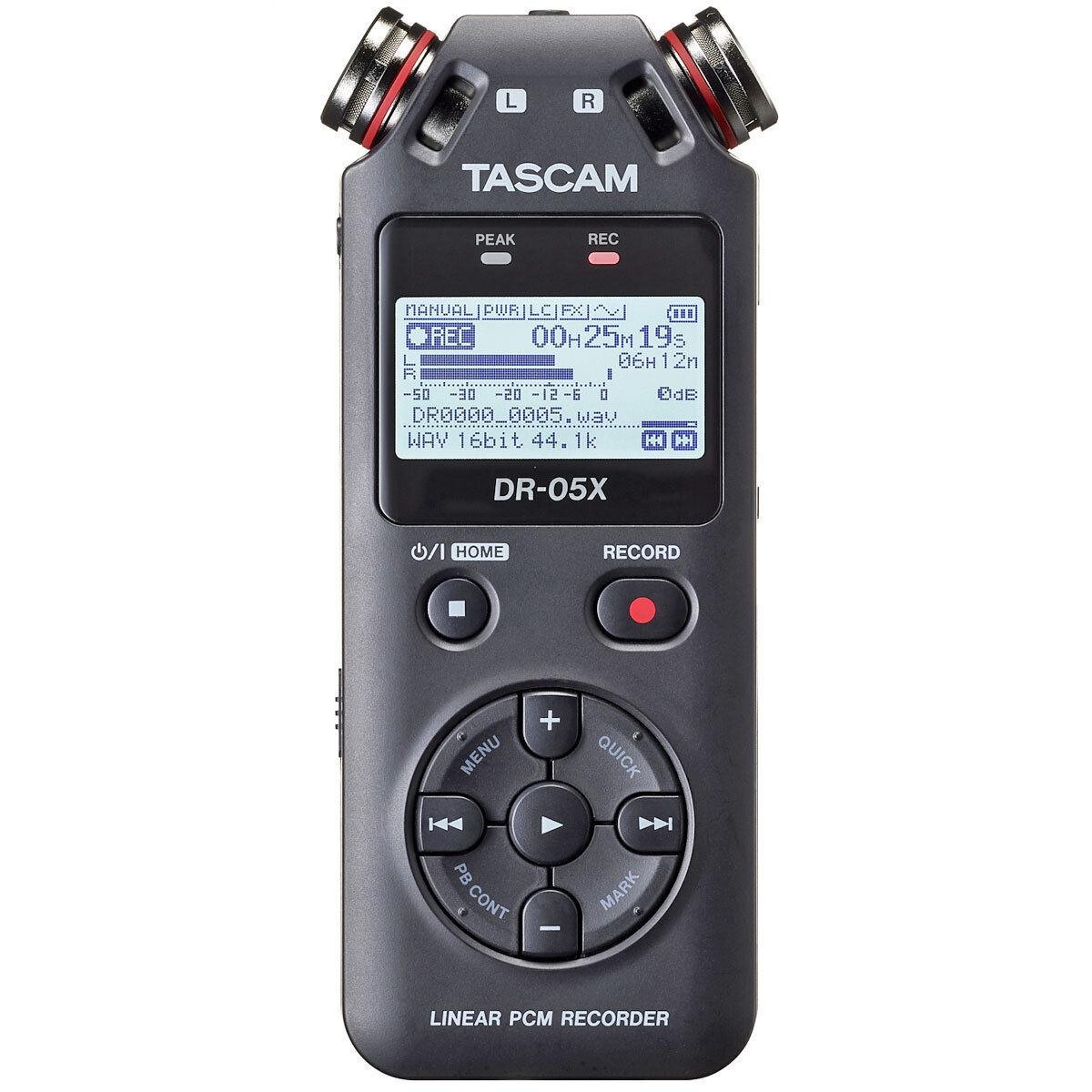 Tascam DR-05X Portatile Audio-Recorder con Interface-Funktion