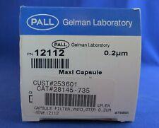 Pall Filter Capsule Vented Maxi 02um 12112