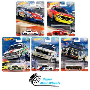 Hot-Wheels-Premium-2019-Car-Culture-N-Case-Door-Slammers-Set-of-5-Cars-In-Stock