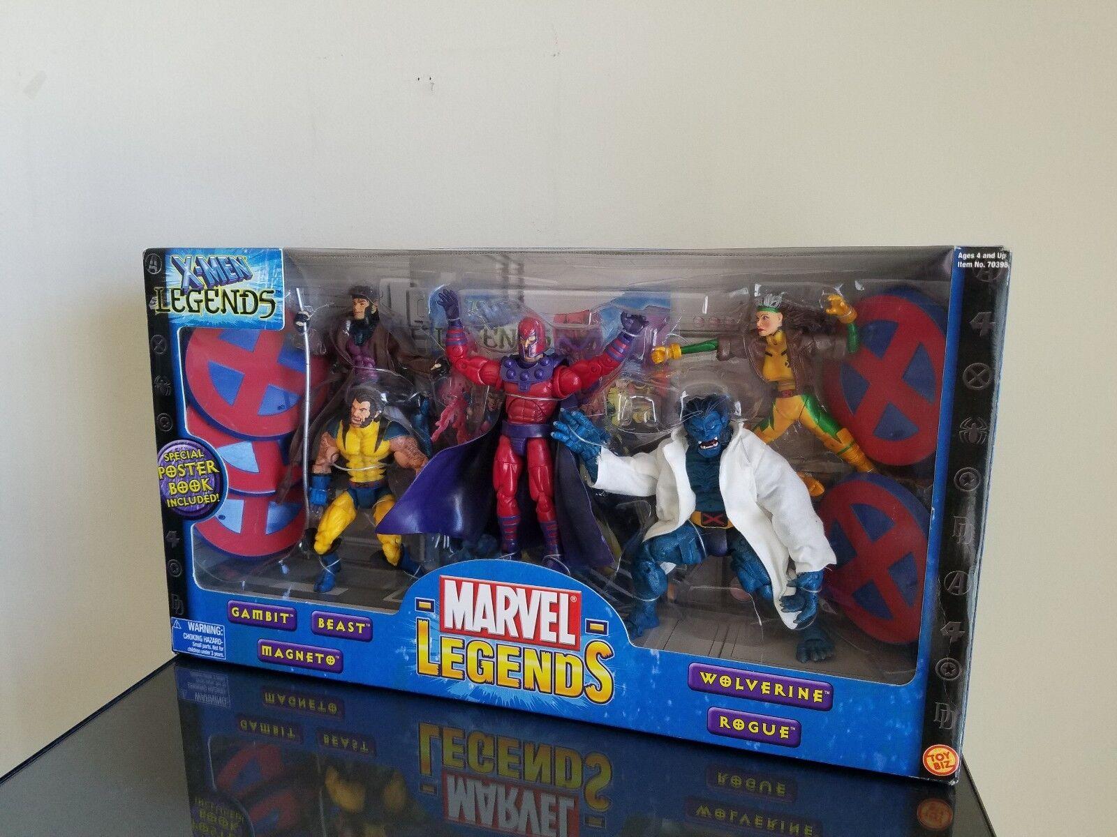 MARVEL LEGENDS X-MEN LEGENDS 5 FIGURE BOX SET Toy Biz