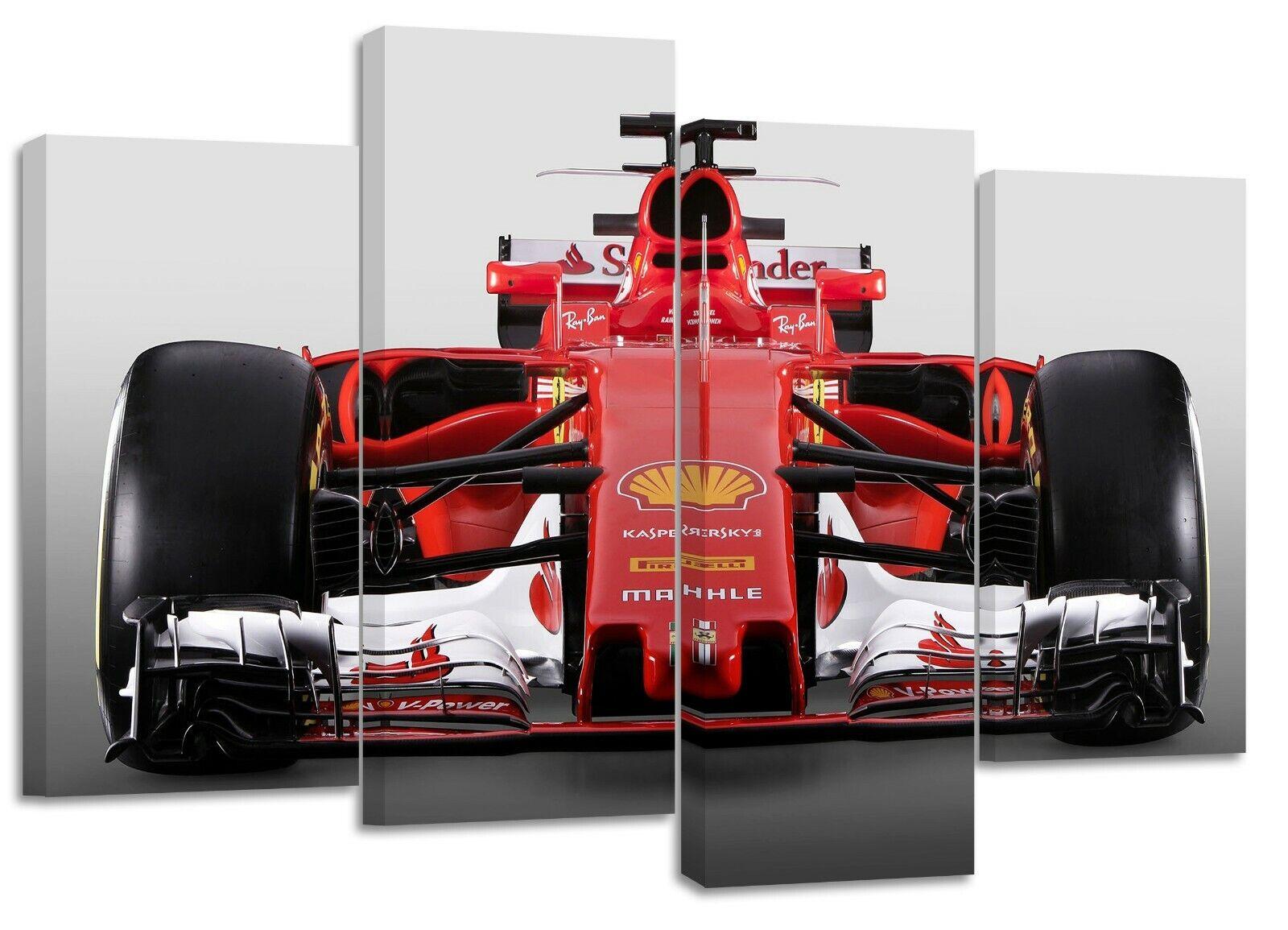 Formula 1 ferrari  canvas split prints
