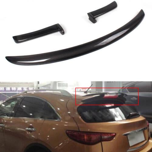 Carbon Fiber Rear Roof Spoiler Wing Lip Fit for Infiniti FX FX35 FX50 09-12