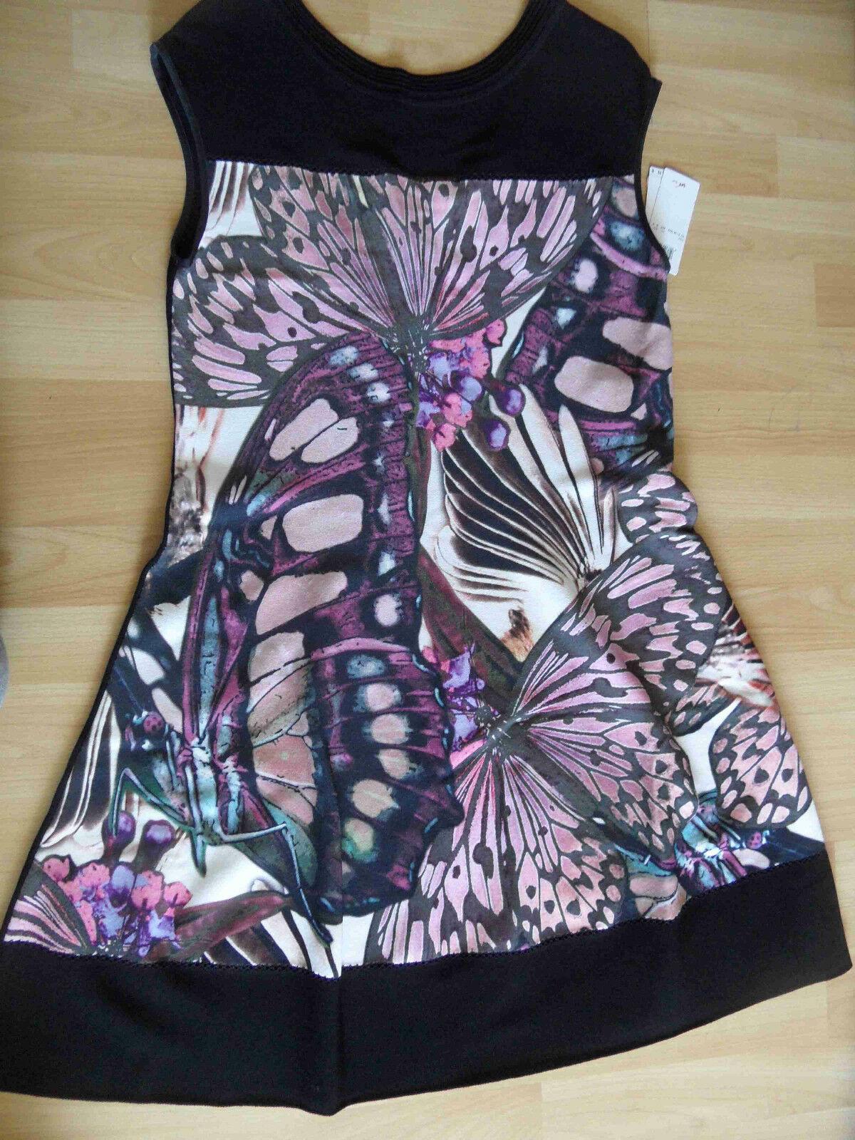 MARC CAIN chices Strickkleid Strickkleid Strickkleid Schmetterlinge N6   44 NP 449 --     NEU 815 685146