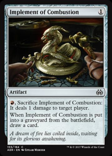 Common - Aether Revolt 4 x Implement of Combustion 155//184