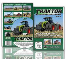 DVD Traktor – Großflächentechnik im Fokus Vol. 3 Landtechnik Getreideernte