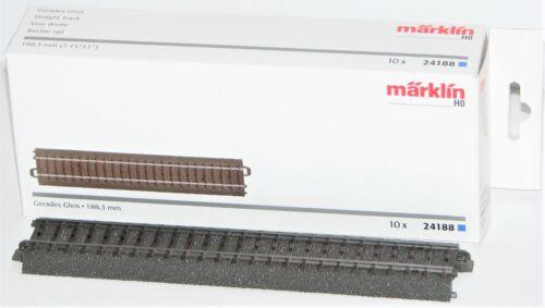 Märklin H0 24188 Gerades C-Gleis 188,3 mm  Neu-OVP