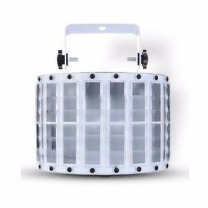 DJ and stage Light New island GLEDTO 9 LED Butterfly Light DJ Party Stage Effect Light 6 Channels Canada Preview