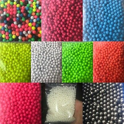 6mm Green Coloured Sea Fishing Beads Rig Lure making