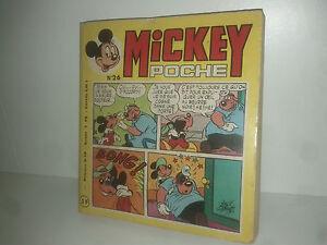Acheter Pas Cher Mickey Poche Mensuel N° 26 Walt Disney 1976
