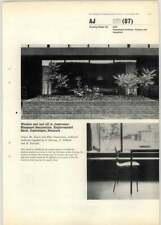 1966 Window Seat And Sill In Classrooms, Enghavegaard Skole, Copenhagen