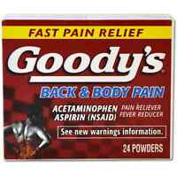 Goody's Back - Body Pain Powders 24 Ea (pack Of 6) on sale