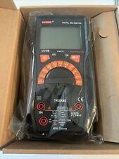 Digital Multimeter Trms 6000 Counts Auto Ranging Multimeter Tester 20 Amp