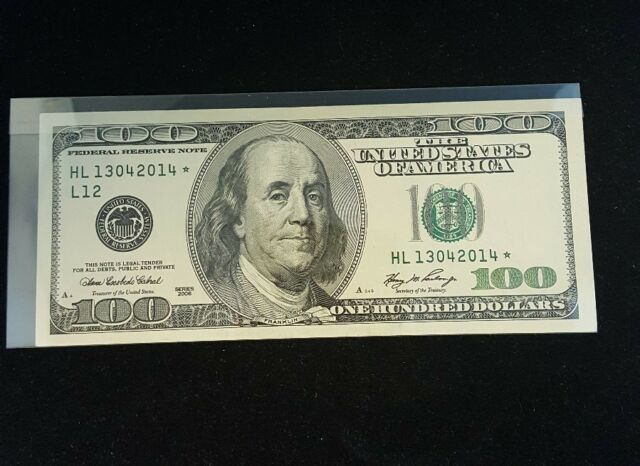 Series 2006 $100 Federal Reserve Note