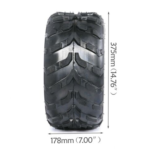 "Pair of  16x8-7 Rear Front 7/"" Tire 50cc 70cc 110cc 125cc ATV Quad Go Kart 16x8x7"