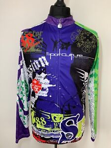 Sport Culture Session Base Jumping Cycling Jersey Shirt Long Sleeve XL RARE