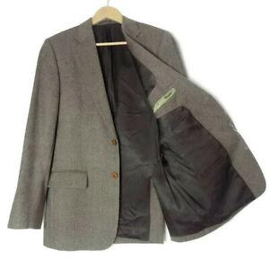 Magee-agradable-T2-Tweed-Chaqueta-Talla-40-40R-Marron-para-Hombre-Chaqueta-Lana-Pura-pais-M-UK